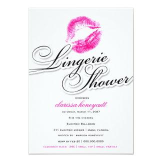 311-Lingerie Shower - Pink Kisses Custom Invite