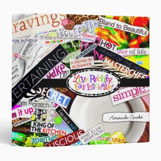 """¡311-Live rico, comen delicioso!  Libro de cocina Carpeta 1 1/2"""""""