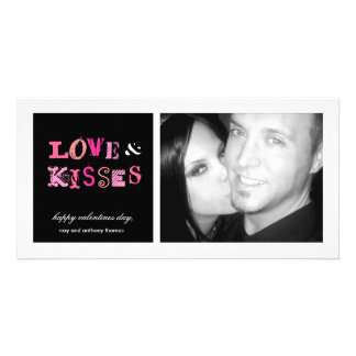 311-Love & Kisses FUnky Valentines PhotoCard Photo Card