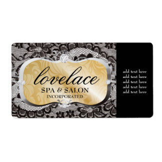 311 Love Lace Bronze Platter Shipping Labels