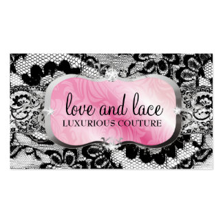 311 Love Lace Pink Platter Business Card