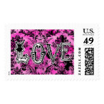 311 Love Stamp - Pink Liquorice Vintage Chic