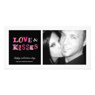 311-Love y tarjetas del día de San Valentín enrrol Tarjeta Personal Con Foto