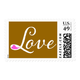 311 Love Your Heart Postage Golden Brown
