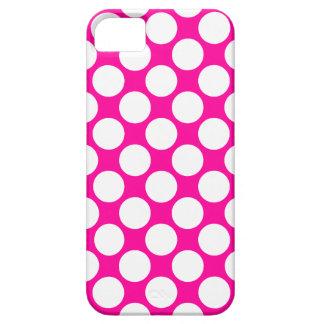 311 lunares de las rosas fuertes y del blanco iPhone 5 Case-Mate protector