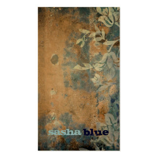 311-Lusciously Rustic Golden Business Card