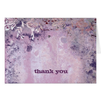 311-Lusciously Rustic Plum Thank You V2 Card