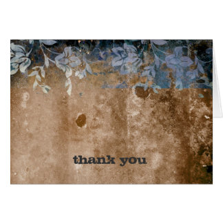311-Lusciously Rustic Thank You Cards
