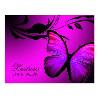 311 Lustrous Butterfly Pink Purple Postcard