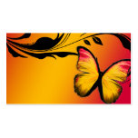 311 Lustrous Butterfly Sunset Name Card Double-Sided Standard Business Cards (Pack Of 100)