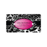 311-Luxuriously Leopard Label