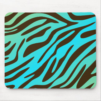 311-Luxuriously Oceanic Zebra Mouse Pad