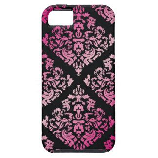 311 Luxuriously Pink Damask iPhone SE/5/5s Case