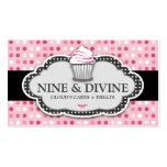 311 magdalenas rosadas divinas del lunar plantilla de tarjeta de negocio
