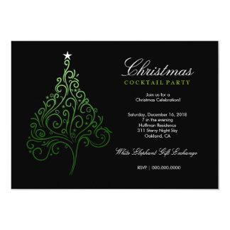 311-Magical Christmas Tree Invite | Green