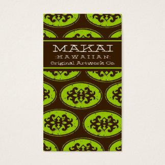 311 MAKAI BUSINESS CARD PALM TREE