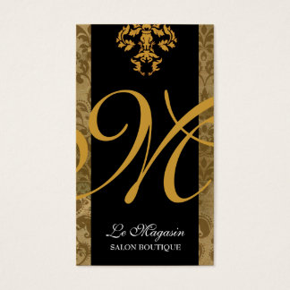 311 Marley Monogram Gold Rush Business Card