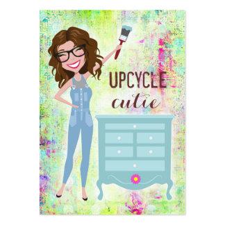 311 más llenos triguenos de Upcycle Cutie Tarjetas De Visita Grandes