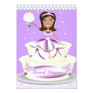 311 Mis Quince Queen Purple Card