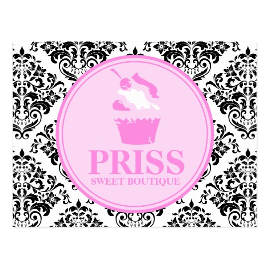 311 Miss Priss Grunge Cake Postcard