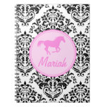 311 Miss Priss Horse Spiral Notebooks