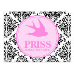 311 Miss Priss Swallows Post Card
