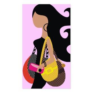 311-Monica High Fashionista Pink profilecard