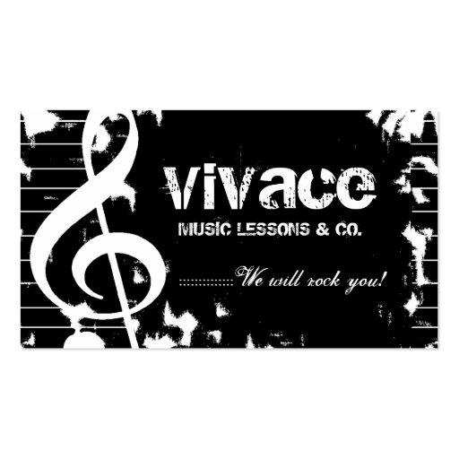 311-MUSICAL MAESTRO - GRUNGE BUSINESS CARD
