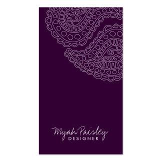 311-Myah Paisley | Plum Business Card