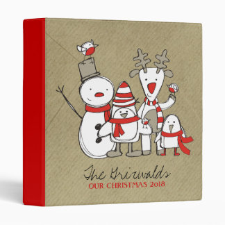 311-North Pole Family Photo Binder