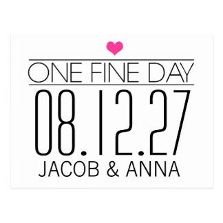 311 One Fine Day Save the Date Postcard