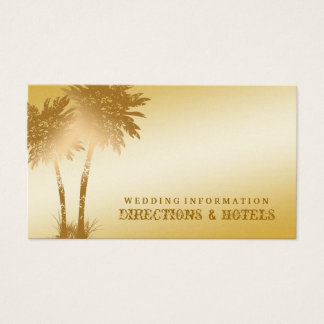 311-Paradise Found | Golden Palms Info Card