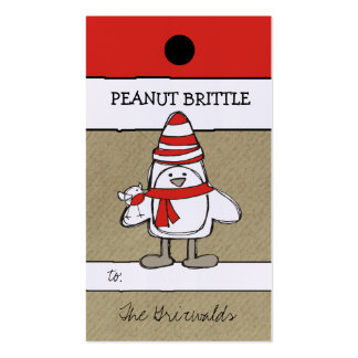 311-Penguin & Friend Hang Tag Business Card