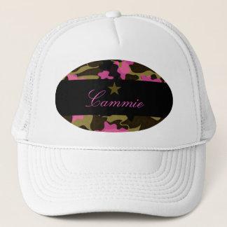 311 PINK CAMO STAR TRUCKER HAT