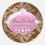 311 Pink Delish Chocolate Sticker