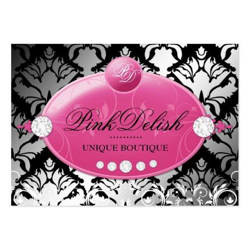 311 Pink Delish Deep Pink | 3.5 x 2.5 Business Card Templates