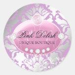 311 Pink Delish | Lilac Classic Round Sticker