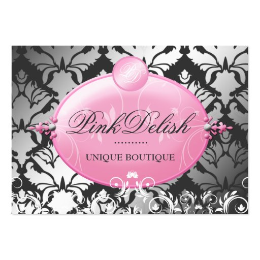 311 Pink Delish Version 2 | Charcoal 3.5 x 2.5 Business Card