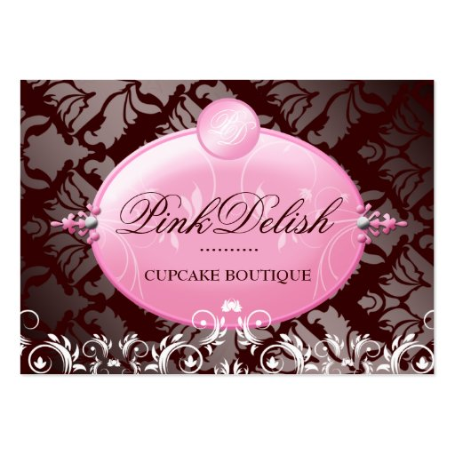 311 Pink Delish Version 2 Chocolate 3.5 x 2.5 Business Card Templates