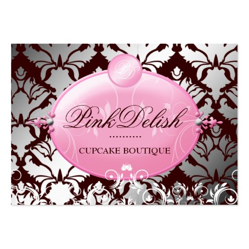 311-Pink Delish Version 2 | Chocolate 3.5 x 2.5 Business Card Templates