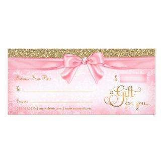 311 Pink Faux Glitter Gift Certificate