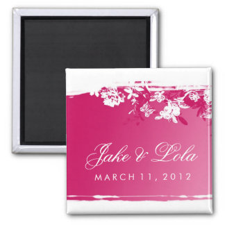 311-PINK LUSH 2 SAVE THE DATE MAGNET