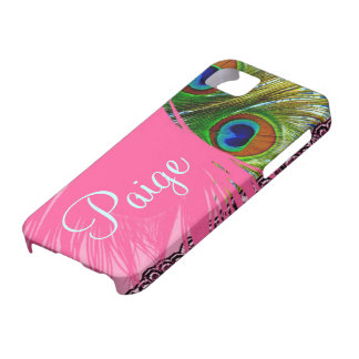 311 Pink Peacock Lace iPhone SE/5/5s Case