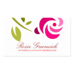 311 PINK ROSE EXTROIDINAIRE Double-Sided STANDARD BUSINESS CARDS (Pack OF 100)