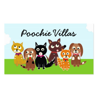 311 Poochie Villas Business Card