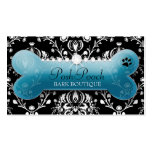 311 Posh Pooch Teal Pitch Bark Business Card