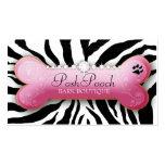 311 Posh Pooch Zebra Business Cards