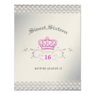 311-Queen for a Day | Sweet Sixteen RSVP Card