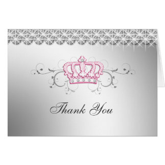 311 Queen for a Day Thank you Greeting Card