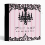 311 rayas rosadas de Sweetique y lámpara del cordó